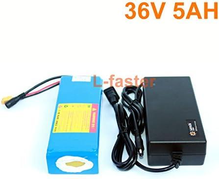 36 ボルト 5Ah 電動スケートボードバッテリーパック電動 4 輪ボードリチウム電池 36 ボルト 18650 バッテリーパック電動スクーターバッテリー Battery + charger