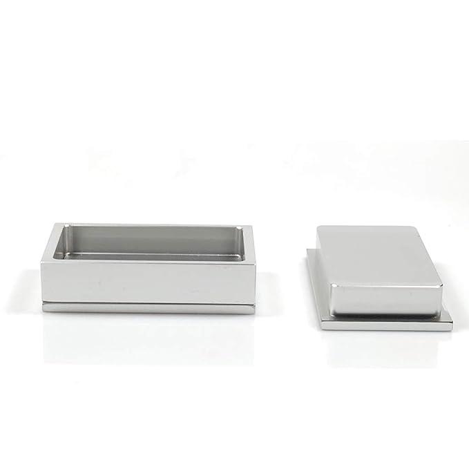Oniche Pre Press Mold 2x4inch Flower Pre Press Mold 2 X 4 Extraction 6061 Aluminum Mold 2x4 Pre Press Mold