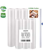 vacuum sealing rolls with knife and box