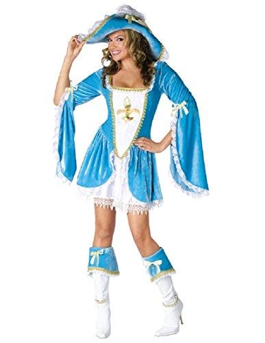 Madam Musketeer Adult Costume - Small/Medium ()