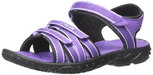Teva Tirra Fashion Sandal (Little Kid/Big Kid), Purple-T, 4 M US Big Kid (Teva Sandals Kids compare prices)