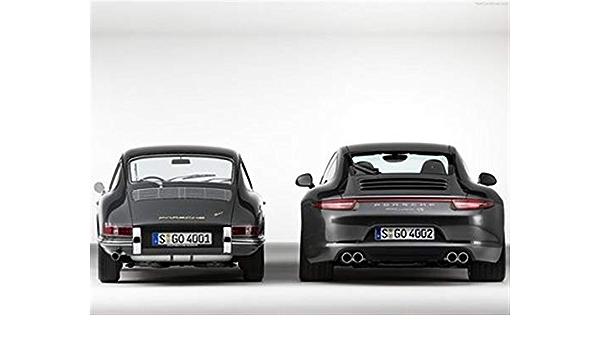 supercars Black Porsche 911 poster vintage cars automobile