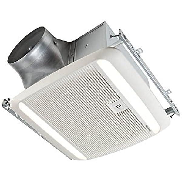 Broan ZB110 110 CFM /<0.3 Sones Multi-speed Ventilation Fan with BLDC Motor RM-27