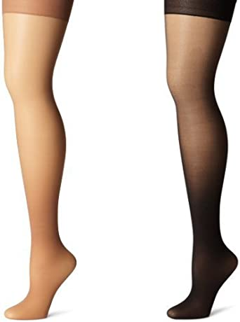 Pair SILK REFLECTIONS Pantyhose CONTROL TOP Size CD Panty *YOU CHOOSE* 1 HANES*