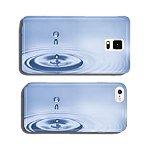 water bubbles in blue cell phone cover case iPhone5