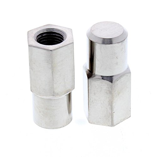 - 1937-1948 Ford Car Kingpin Cross Bolt Spindle Stop Nuts, Zinc
