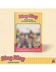 ROCKET PUNCH [RING RING] 1st Single Album. 1ea CD+1p UNFOLDED POSTER+60p Photo Book+1ea Photo Card +1ea Square Post Card+1ea Sticker+TRACKING CODE K-POP SEALED