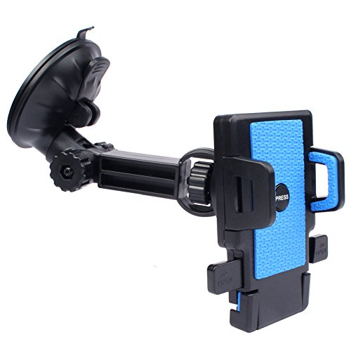 Cell Phone Holder w/One Touch Button