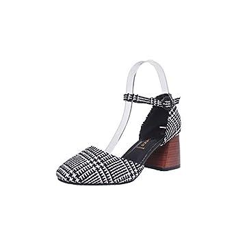 db4b34592df DENER❤ Women Ladies Platform Wedge Dress Sandals with Chunky Heels