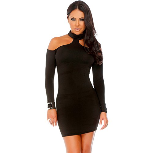 KRAGEN FORPLAY HÜLSEN DRESS BLACK LONG wWqHvF