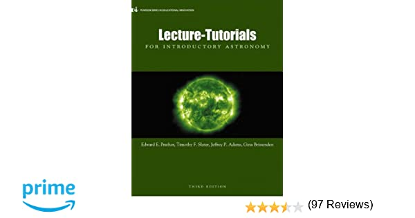 Lecture-Tutorials for Introductory Astronomy, 3rd Edition: Edward ...