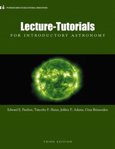 Lecture-Tutorials for Introductory Astronomy, 3rd Edition cover