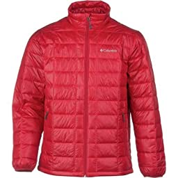 Men\'s Trask Mountain 650 TurboDown Jacket Rocket Red X Large