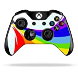 Protective Vinyl Skin Decal Cover for Microsoft Xbox One/One S Controller wrap sticker skins Rainbow Flood For Sale