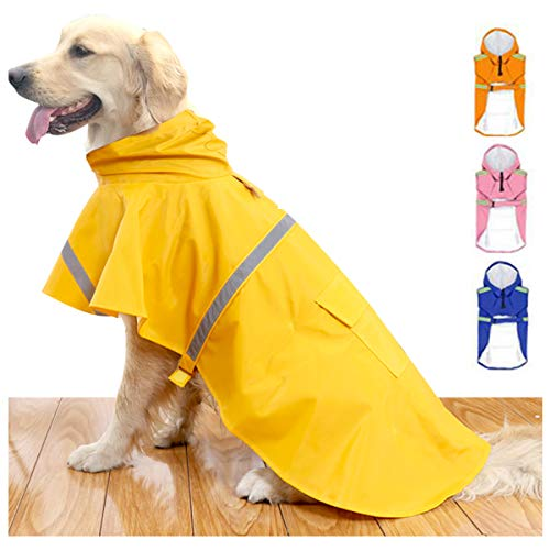 HAPEE Dog Raincoats for