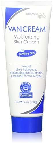 Vanicream Moisturizing Skin Cream for Sensitive Skin 4 oz (Pack of 2)