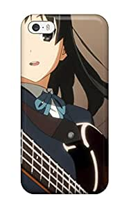 [mJIBlRB5904BTgjj]premium Phone Case For Iphone 5/5s/ K-on! Guitars Akiyama Mio Smiling Open Mouth Anime Tpu Case Cover