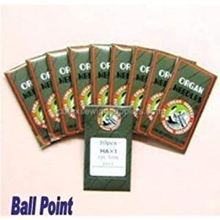 100 Ball Point 15X1 HAX1 130/705H Home Sewing Needles (Size 14 (Metric Size 90))