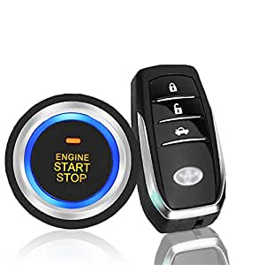 Amazon.com: GZLMMY PKE Car SUV Keyless Entry Engine Start ...