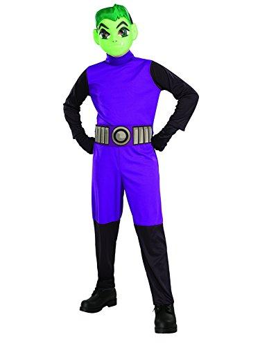 (Rubie's Teen Titan Go Movie Boys Beast Boy Costume)
