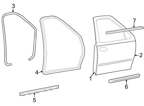 Genuine Ford XL3Z-1520878-APTM Door Molding
