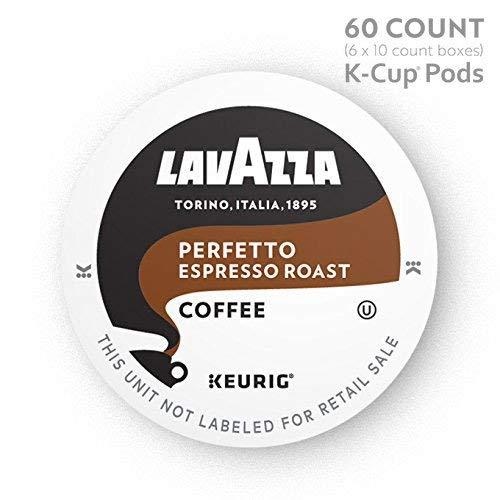 Lavazza K-Cups Perfetto Single-Serve Coffee 60 K-Cups for Keurig Brewer Medium Count Espresso Roast 60 Count [並行輸入品] B07N4LZV54, ハンコワークス:bbbb930e --- ijpba.info