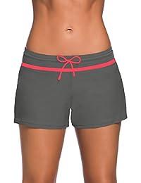 SweatyRocks - Pantalones Cortos de Verano para Mujer