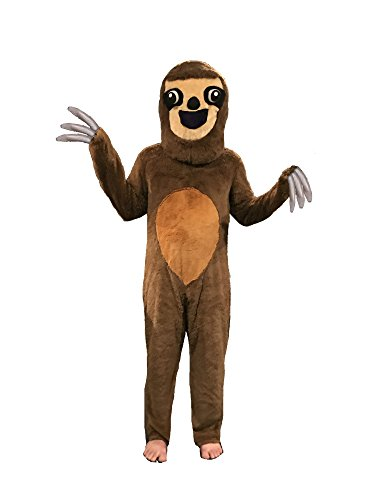 Party Sloth Costume Brown ()