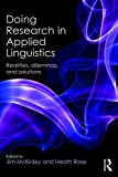 img - for Doing Research in Applied Linguistics: Realities, dilemmas, and solutions book / textbook / text book