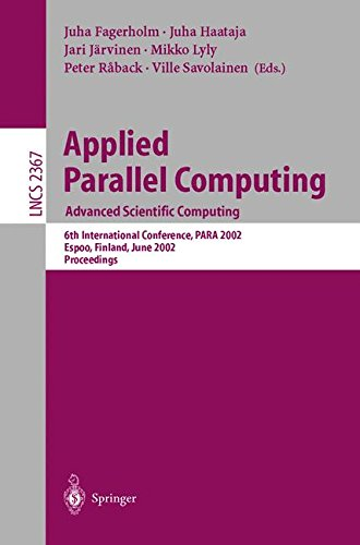Applied Parallel Computing by Springer