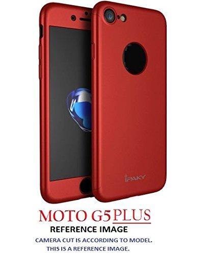 new concept 90c47 3435e MOTO G5 PLUS CASE AE 360 Degree MOTOROLA G5 PLUS Front: Amazon.in ...