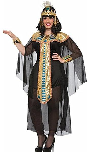 Black/gold Cleopatra Adult Plus Costume