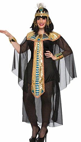 [Forum Women's Size Cleopatra Black Costume, Multi/Color, Plus] (Halloween Costumes 2016 Plus Size)