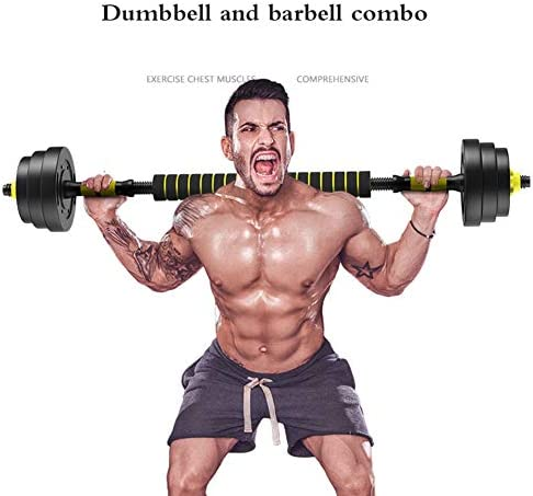 15 kg Dumbbell Set Weights Lifting Gym Fitness Home Training Workout Sports