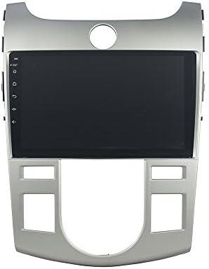 KUNFINE Android 9.0 8核自動車GPSナビゲーション マルチメディアプレーヤー 自動車音響 起亜 KIA CERATO/FORTE 2008 2009 2010 2011 2012 自動車ラジオハンドル制御WiFiブルースティスト