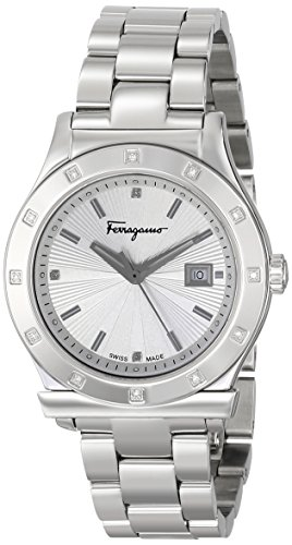 Salvatore Ferragamo Women's FF3090014 FERRAGAMO 1898 Stainless Steel Silver-Tone Watch by Salvatore Ferragamo