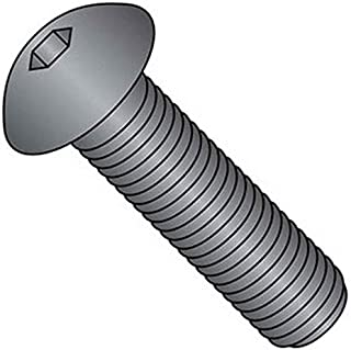 product image for Holo-Krome 64028, 10-24x3/8 Button Socket Cap Screw, Steel, Black Oxide, UNC, 100/Pk
