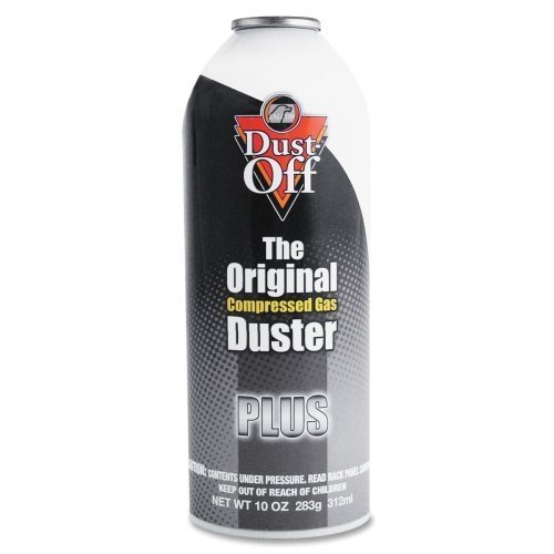 Wholesale CASE of 15 - Falcon Safety Dust-Off Plus Refill-Dustoff Plus Refillable Cleaner, 10 oz. by FAL