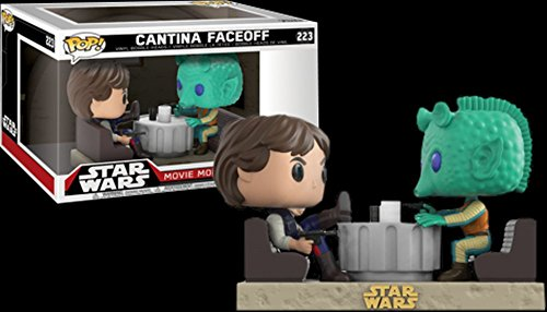 Funko POP! Exclusive Star Wars: Movie Moments - Han Solo and Greedo Cantina (Han Solo Bobble Head)
