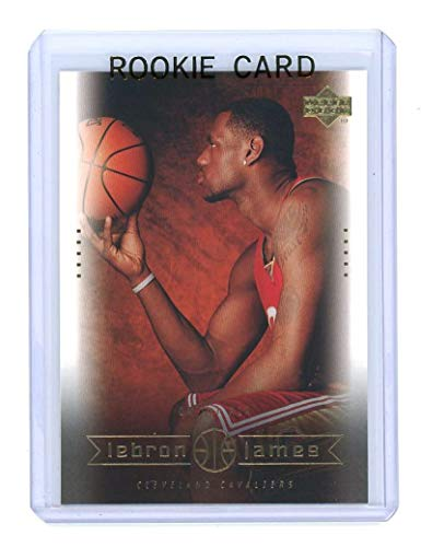Upper Deck 2003 Mint - 2003 Upper Deck #17 On the Air Lebron James Rookie Card - Mint Condition Ships in a Brand New Holder