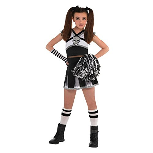 AMSCAN Rah Rah Rebel Cheerleader Halloween Costume for Girls, Extra Large, with Included Accessories]()