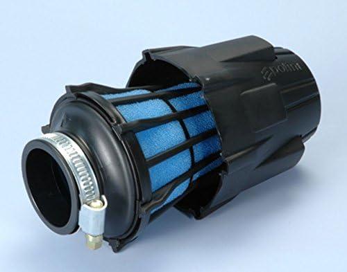 32mm gerade Luftfilter Polini Kunststoff mit Kappe