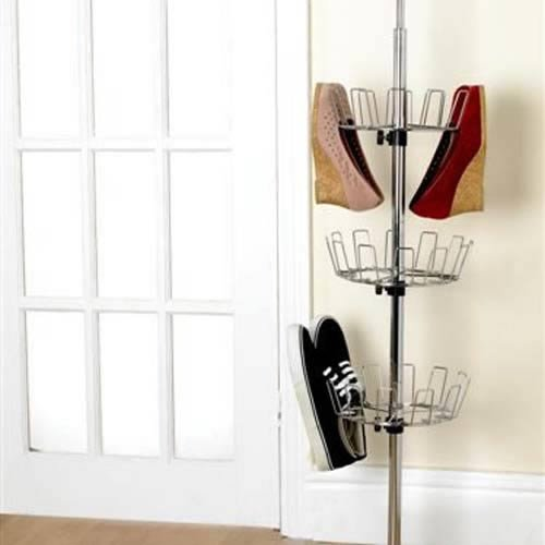 Caraselle Deluxe Revolving Shoe Tower
