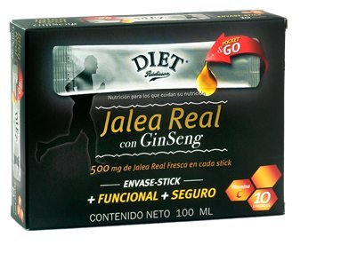 Jalea Real Con Ginseng Diet Rádisson 100Ml.