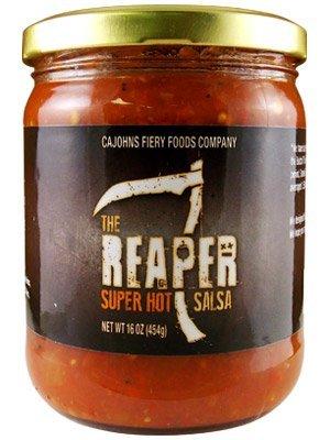 Smokin Ed's Carolina Reaper Salsa by CaJohns (16 ounce) by CaJohns Fiery Foods