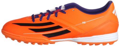 Adidas F10 TRX TF Fussballschuhe solar zest-blast purple-black - 40