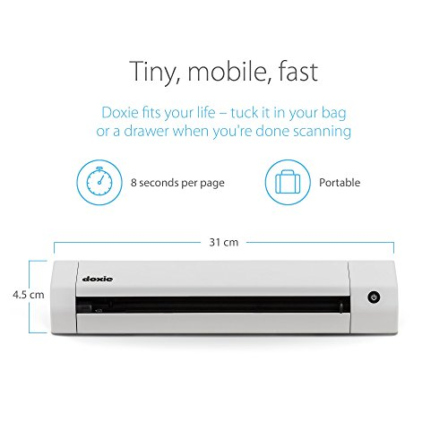Doxie Go SE Wi-Fi - The Smarter Wi-Fi Scanner with Rechargeable Battery & Amazing Software