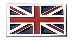 "Sumex Log1643 - Emblema ""Union Jack"" Cromado, 70X40 mm"