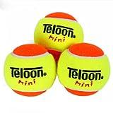 Teloon Kid Mini Overhead Smash Soft Trainning Tennis Balls (Sigle-pack /3 balls)