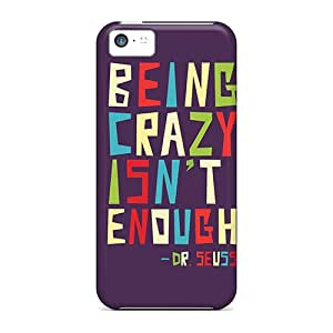 New Arrival Covers Cases With Nice Design For Iphone 5c- Being Crazy